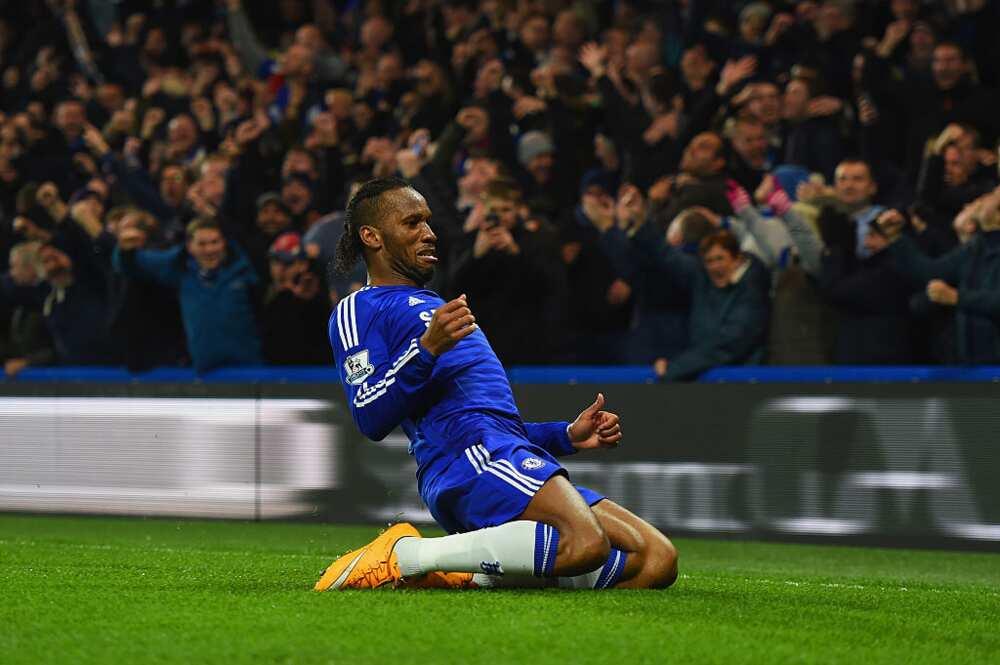 Victor Osimhen describes Chelsea legend Didier Drogba as his idol
