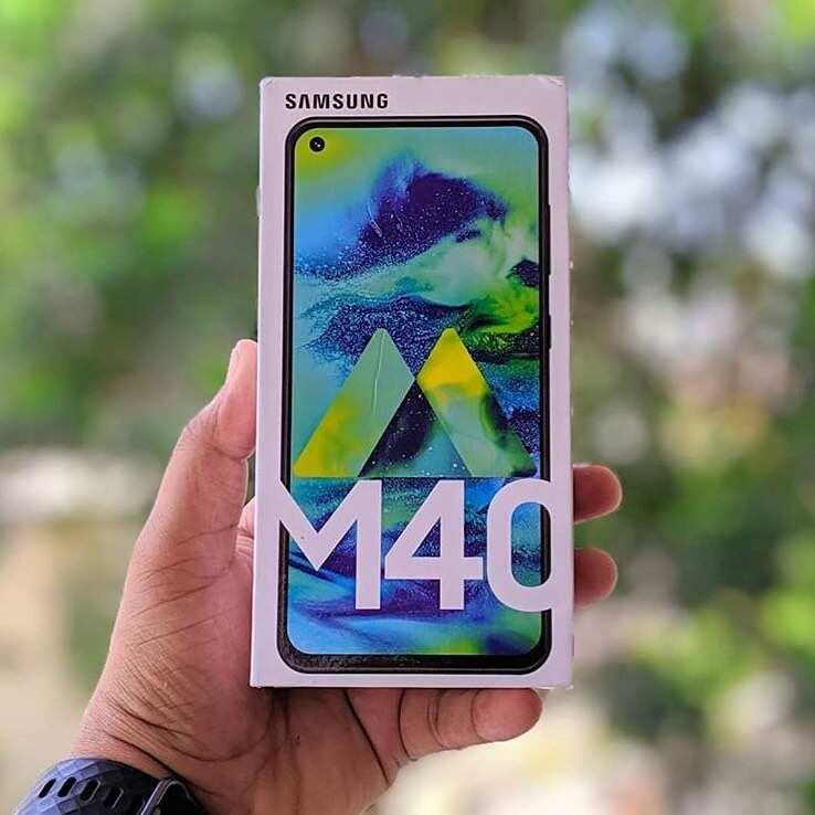 Samsung Galaxy M40 all details