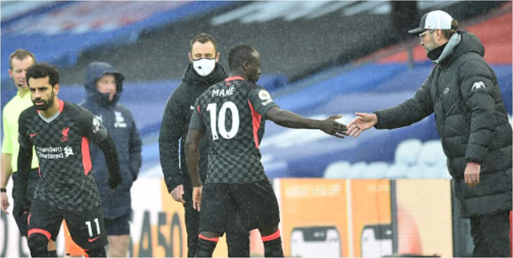 Jurgen Klopp claims Mane was not angry he was substituted for Salah