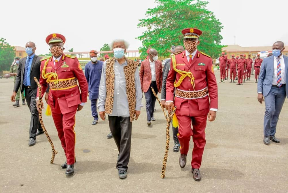Abuse your uniform and be struck by god of iron, Soyinka tells Amotekun corps