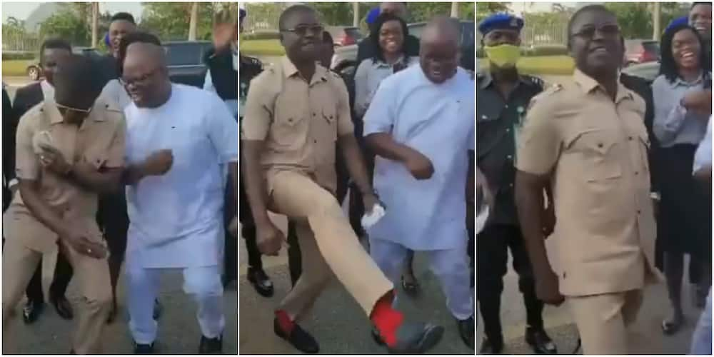 Hilarious Video of Nigerian Deputy Governor Dancing Gbese and Zanku Causes Stir on Social Media