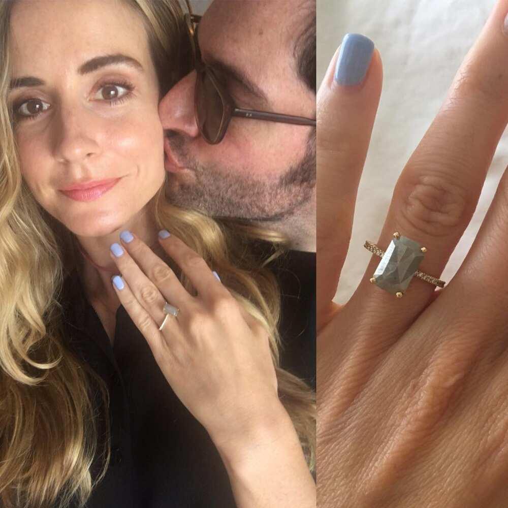 Meaghan Oppenheimer engagement ring