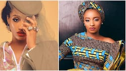 Don't use my life to insult another person - Singer Dija tells follower who compared her to actress Rahama Sadau