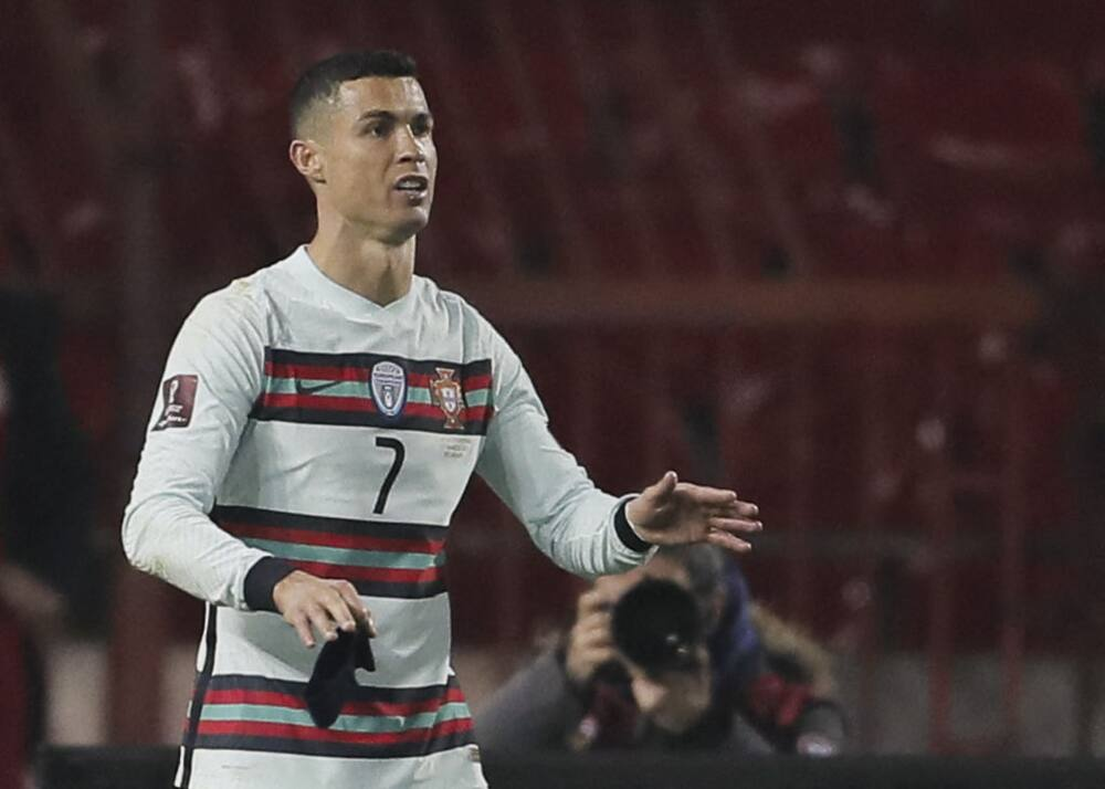 Former Portugal star blasts Cristiano Ronaldo for slamming armband during outburst in Serbia draw