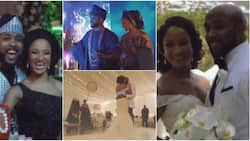 Banky W shares video of special moments from his wedding as he celebrates 3rd anniversary
