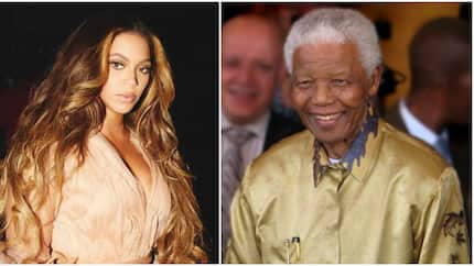 American singer Beyonce pens touching letter of appreciation to Nelson Mandela