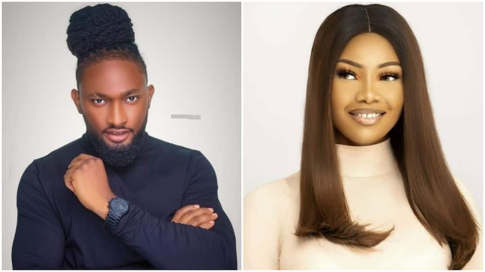 BBNaija: Uti apologizes to Tacha for remarks he made about her in 2019