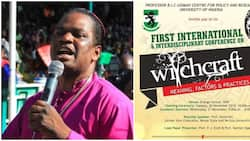 As long as God is alive and I am alive, this witchcraft conference can't hold - Nigerian bishop says