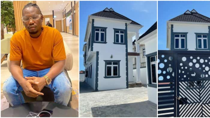 Lagos houses like sliced bread: Reactions as photos of singer Qdot's mansion goes viral