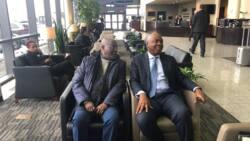 Ziyarar Amurka: Atiku ya cikawa Buhari baki a kan zabe