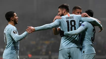 Giroud tells Morata to prepare for competition in Chelsea's striking role