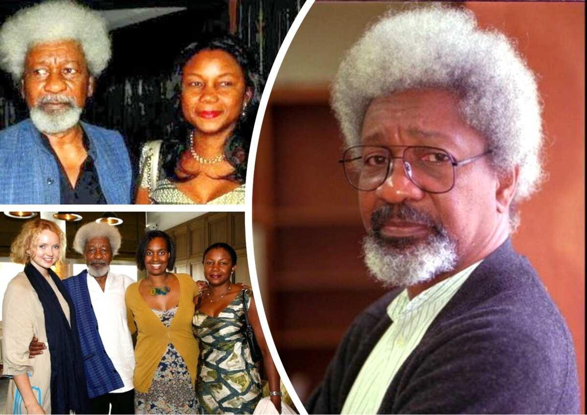 Wole Soyinka and family