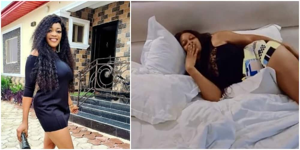 Actress Eve Esin Lambastes Troll for Saying She's Always Staying in Hotel Rooms, Fans React