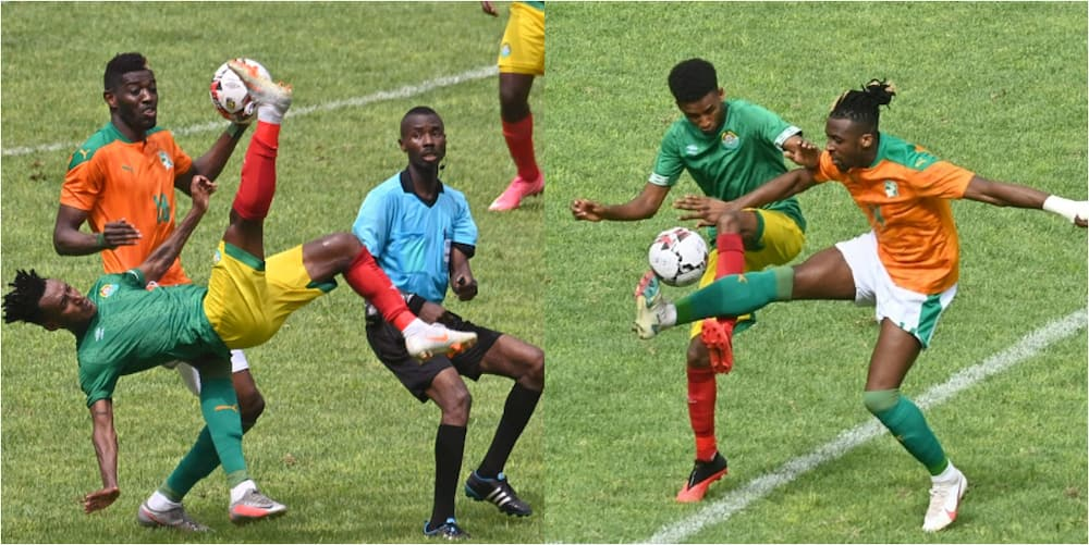 AFCON qualifier ends in confusion as referee collapses in 80th and no substitute is available