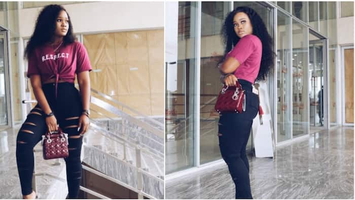 Ex-reality star Cee-C steps out looking stylish