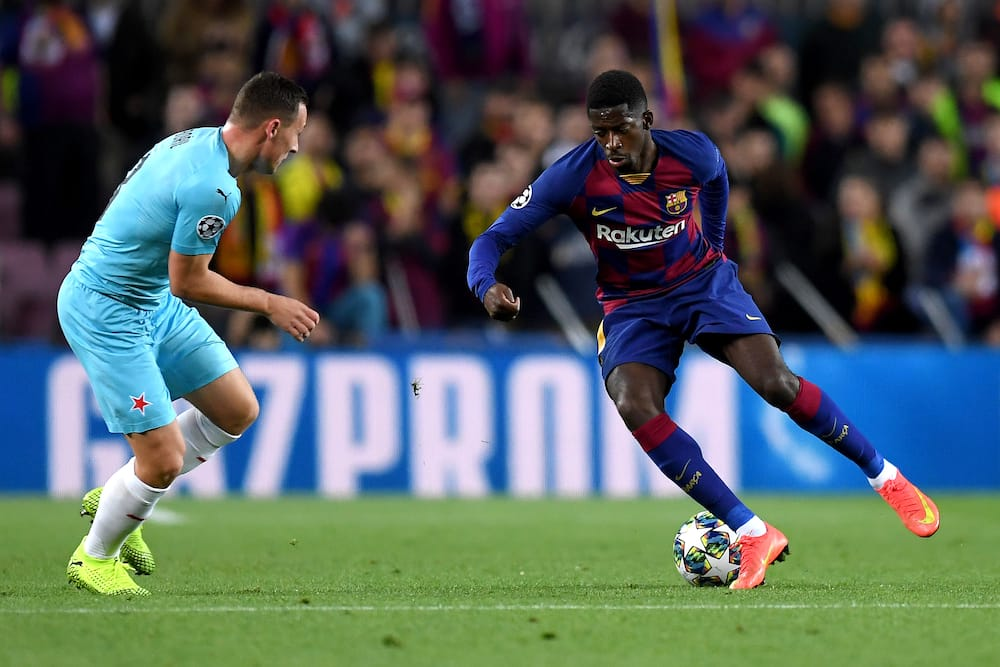 Ousmane Dembele emerges top transfer target for Premier League champions Liverpool