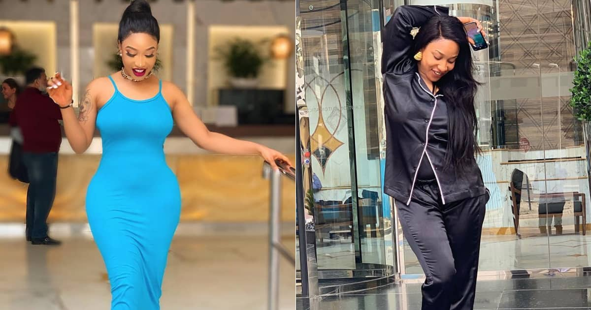 Tonto Dikeh gives N50k to troll who insults her regularly, fans react