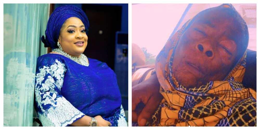 Actress, Foluke Daramola seeks financial help for sick Iyabo Oko