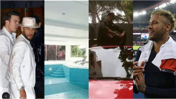 Neymar: Duba gidansa mai darajar N3.3bn da ke Paris tare da Ferrari din sa me darajar E130m