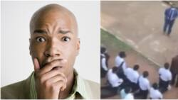 Glorified secondary school: Reactions as video captures varsity students kneeling down for missing lectures