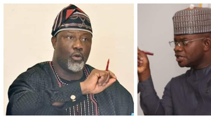 Kogi is financially anemic under you - Melaye slams Governor Bello in viral video, releases new song