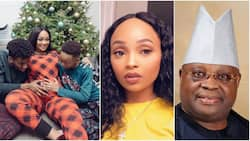 Folashade Adeleke reveals her father's reaction when he found out she was pregnant for the 2nd time out of wedlock