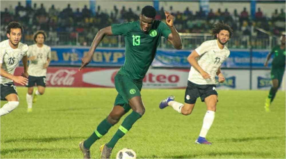 Sensational Striker With 33 Goals Last Season to Lead Super Eagles Attack vs Cameroon
