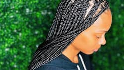 30+ ideas for knotless braids: cool braided hairstyles for women