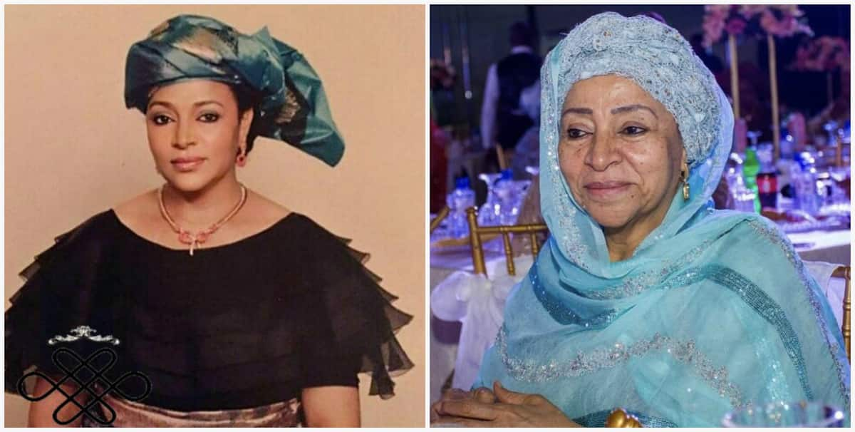 Maryam Abacha then and now