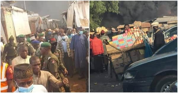 Fire destroys section of Sokoto central market