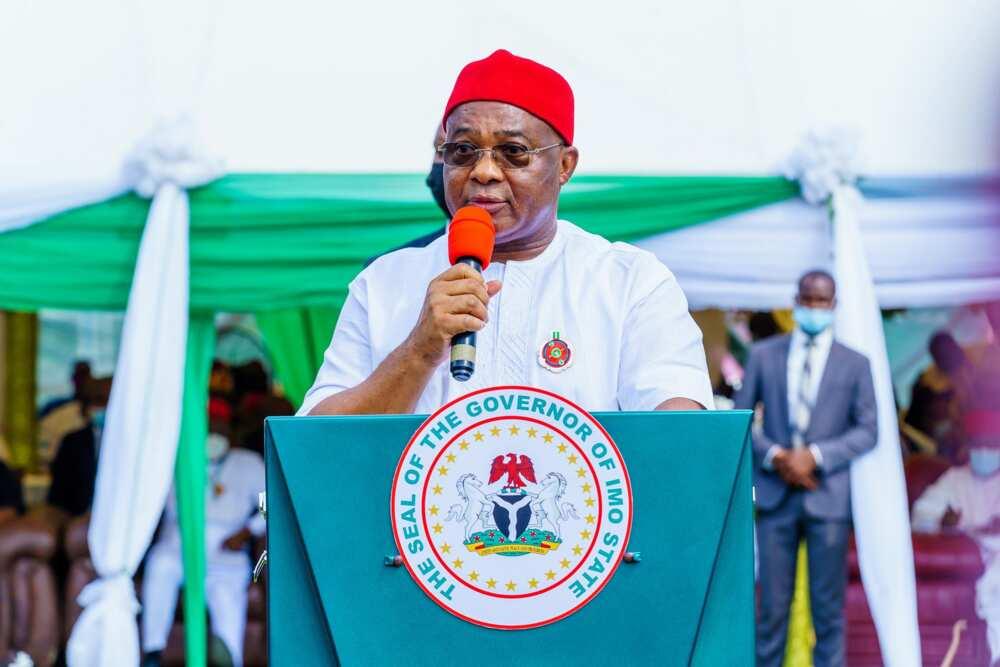 Governor Hope Uzodimma