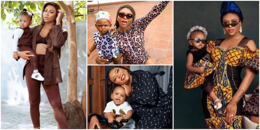 Mama's Girl: X Cute Mummy and Me Photos of Stephanie Coker With Her Daughter Ariella