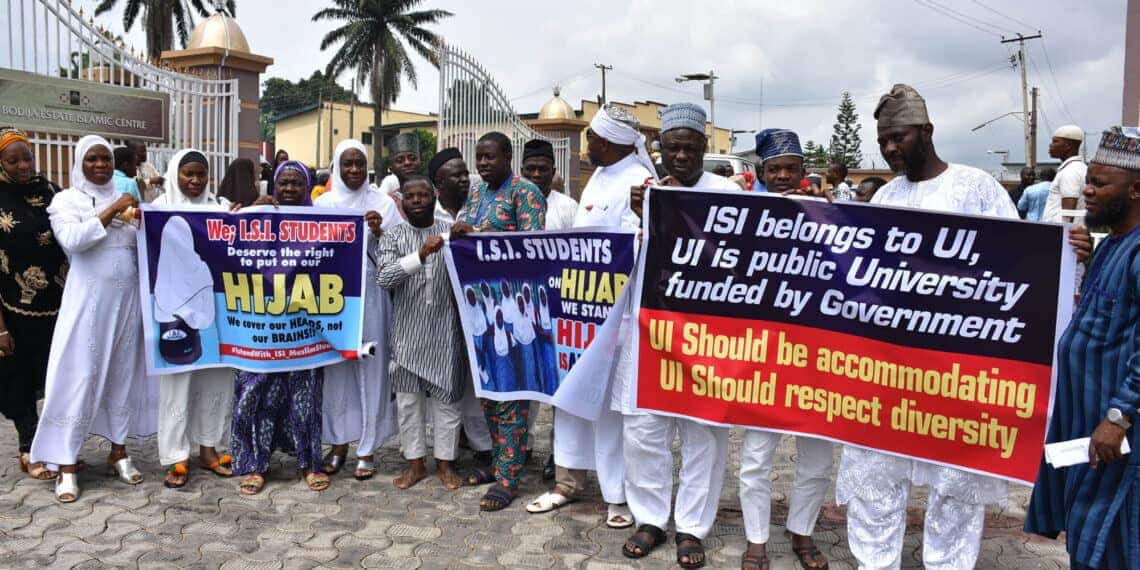 ISI hijab: Students, parents comply with court's directive, file case individually