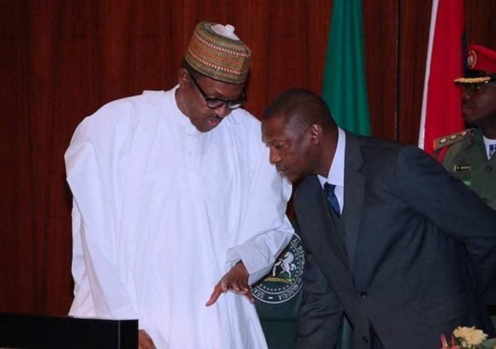Buhari, AGF Malami sun jaddada cewa IGP Adamu zai iya zama a kujerarsa har 2024