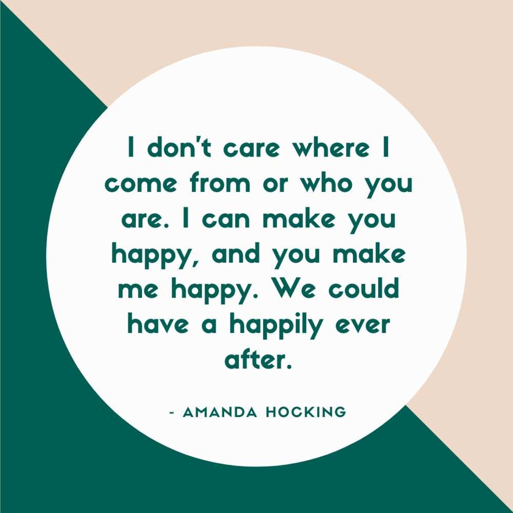 Making me happy quotes