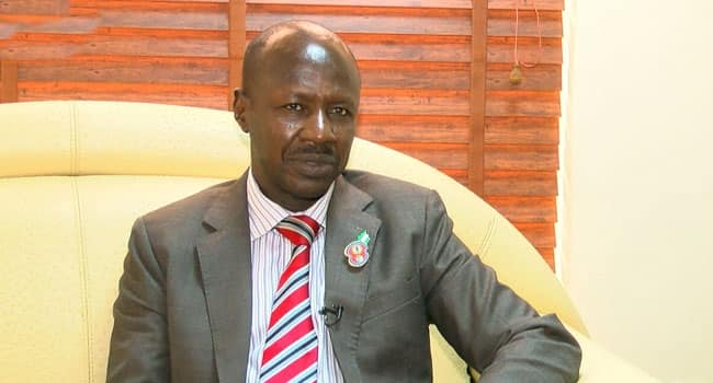 EFCC: I strongly believe coronavirus is caused by corruption - Magu