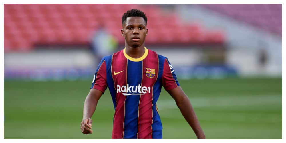 Ansu Fati becomes youngest scorer in El Clasico at age 17