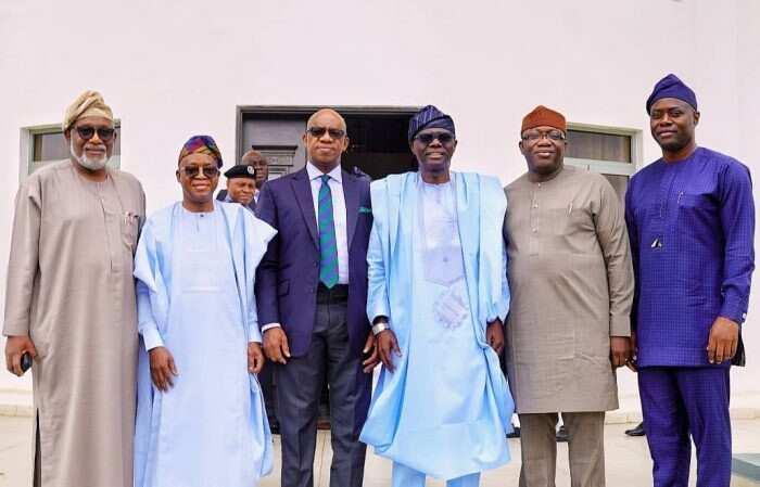 Sunday Igboho: Gwamnonin kudu maso yamma sun gudanar da taron gaggawa