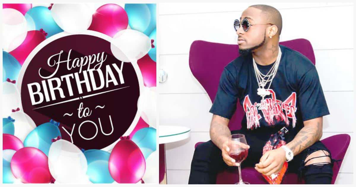 Davido birthday today