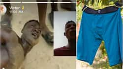 This idiot wan use my boxer buy Benz - Man cries out after catching underwear thief in Delta state