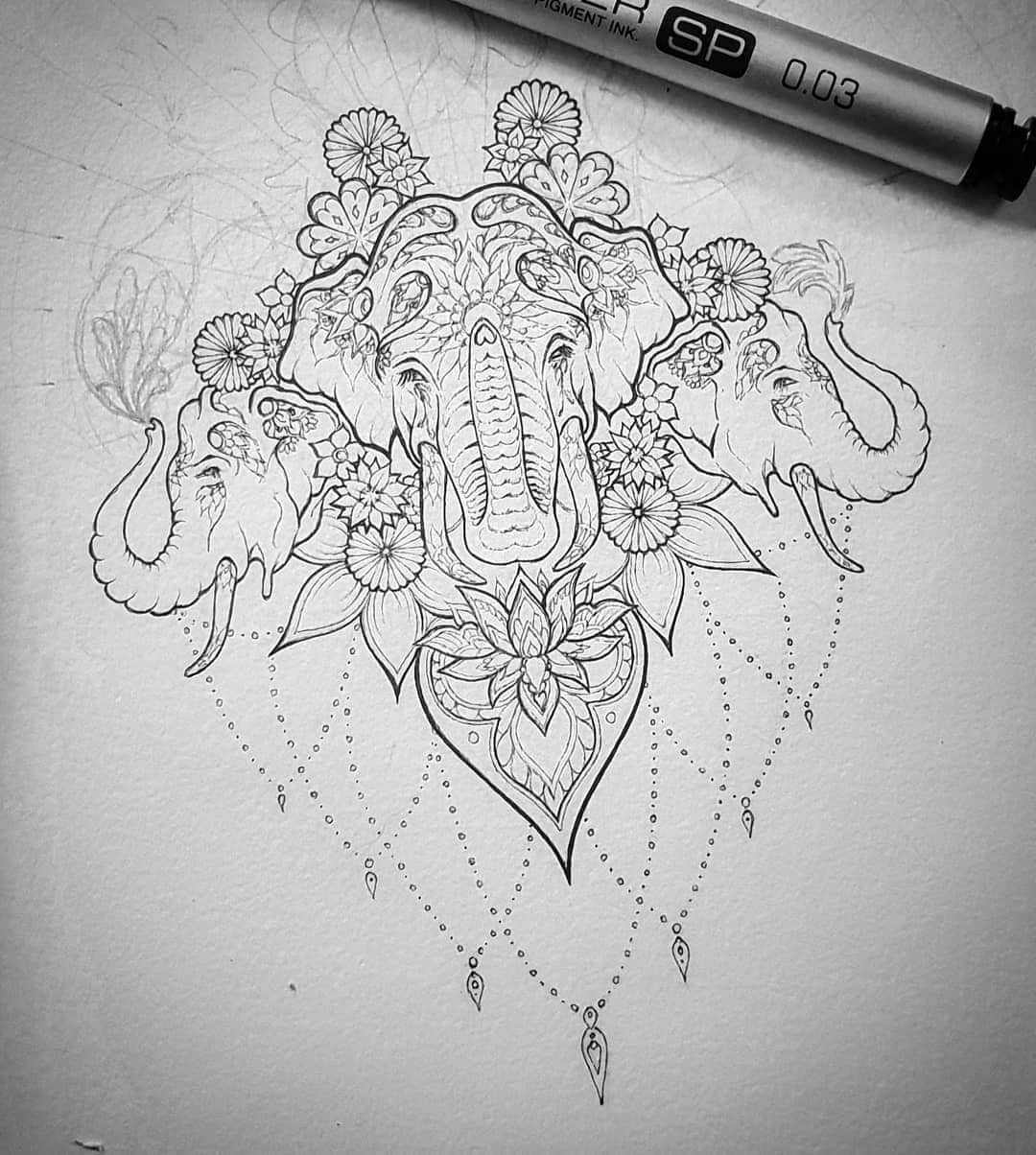 Elephant Tattoo Meaning And Top 50 Ideas Legitng