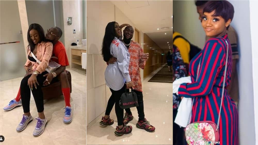 Happy birthday to the love of my life - Davido says as he wishes Chioma a happy birthday