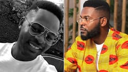 Fans react as 'Falz the Bahd Guy' shaves off beard and unveils new look on social media