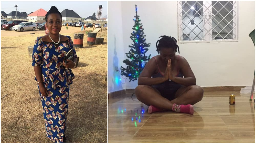 Laundrywoman makes it, builds her own house, Nigerians react