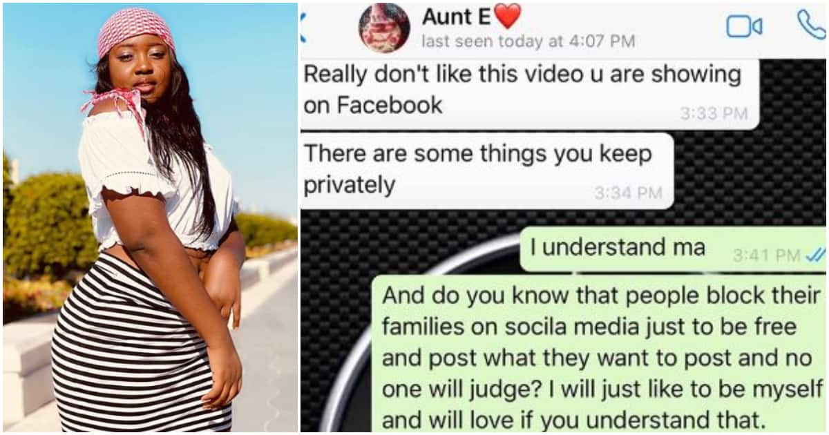 Image result for Nigeria Main Latest Photo News LATEST PHOTO NEWSNIGERIA LIFE AND STYLEGISTLOCAL NEWSNAIJA GOSSIP Young lady shares reply she gave an aunt who complained about her social media post Read more: https://www.legit.ng/1294331-young-lady-shares-reply-gave-aunt-complained-social-media-post.html?utm_source=mailfire&utm_medium=email&utm_campaign=20