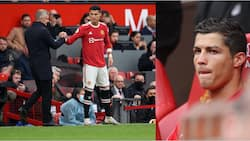 Panic for Solskjaer as angry Ronaldo sends message to Man Utd boss after benching him against Everton