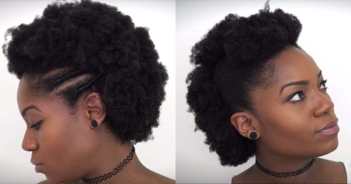 5 ways to style your short African hair to look stunning