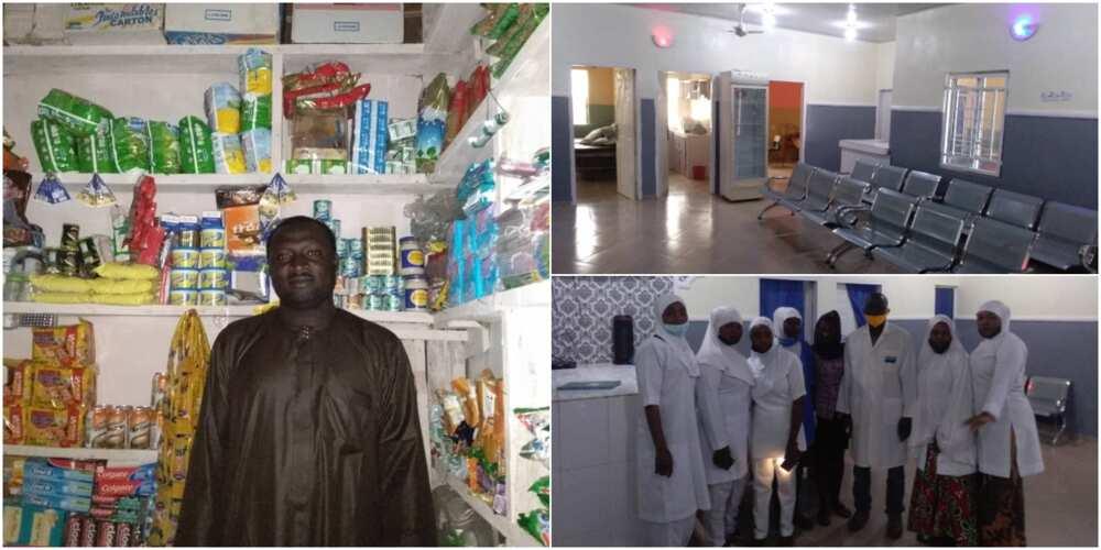 Jos trader who built a thirteen (13) bed clinic/maternity