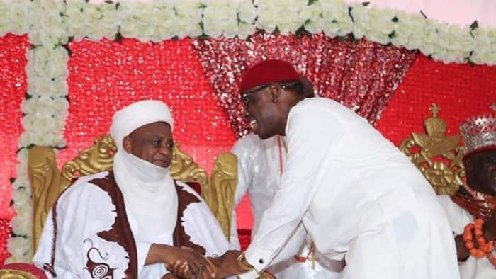 Okowa to Sultan: We appreciate your contributions to ending banditry, insurgency