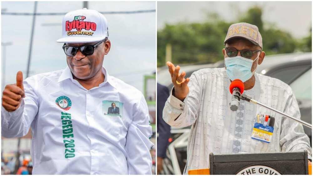 Ondo Election: Tribunal announces date for Akeredolu, Jegede's fate